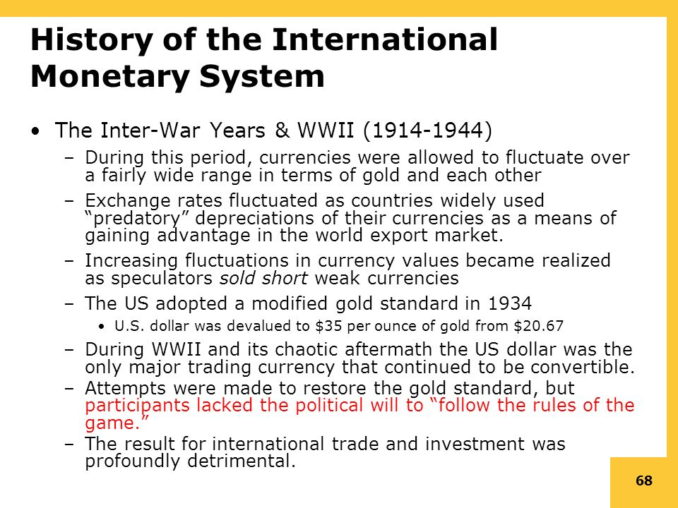 international monetary system Wwwprincetonedu.