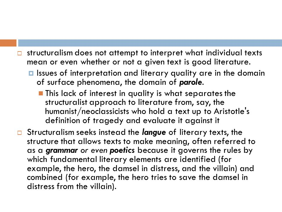 structuralist approach to literature pdf