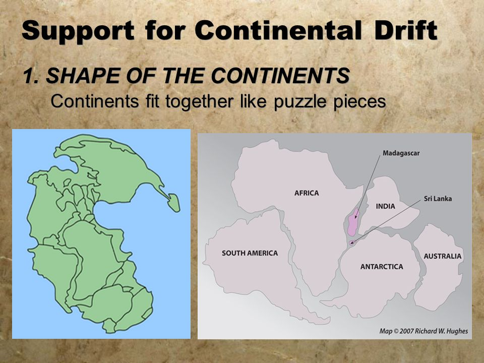 Continental drift ppt video online download support for continental drift gumiabroncs Gallery