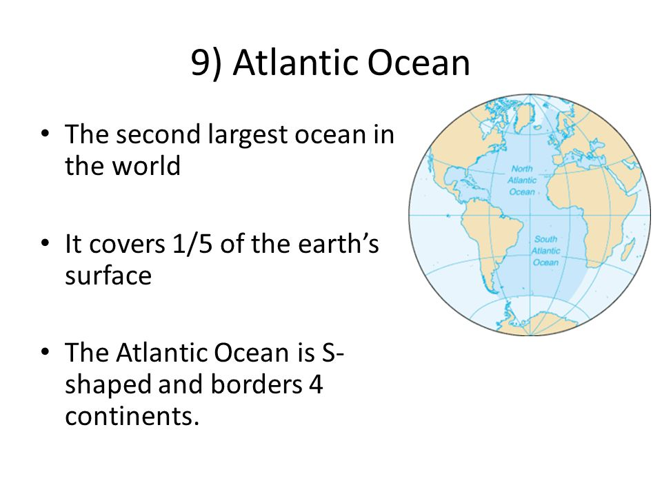 Geography Continents And Oceans Ppt Video Online Download - 5 largest ocean in the world