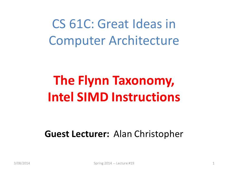 Guest Lecturer Alan Christopher Ppt Video Online Download