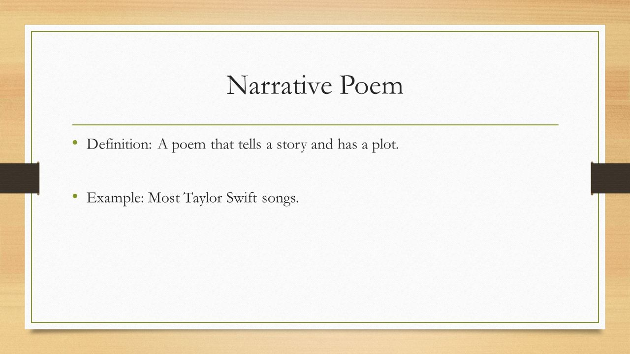 definitions of poetic devices