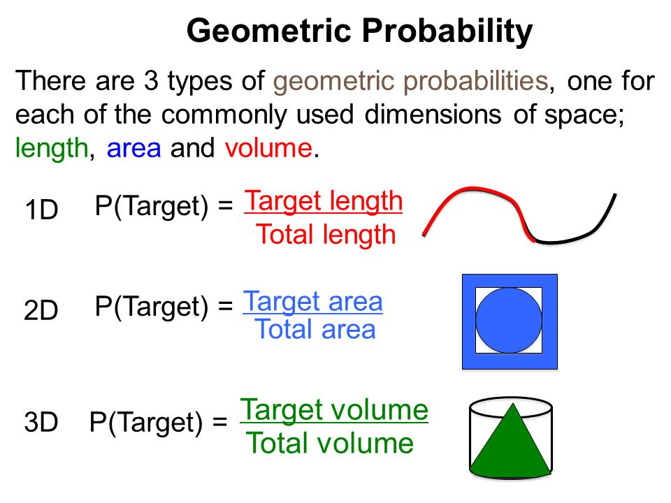 Geometric Probability Worksheet for 10th Grade | Lesson Planet
