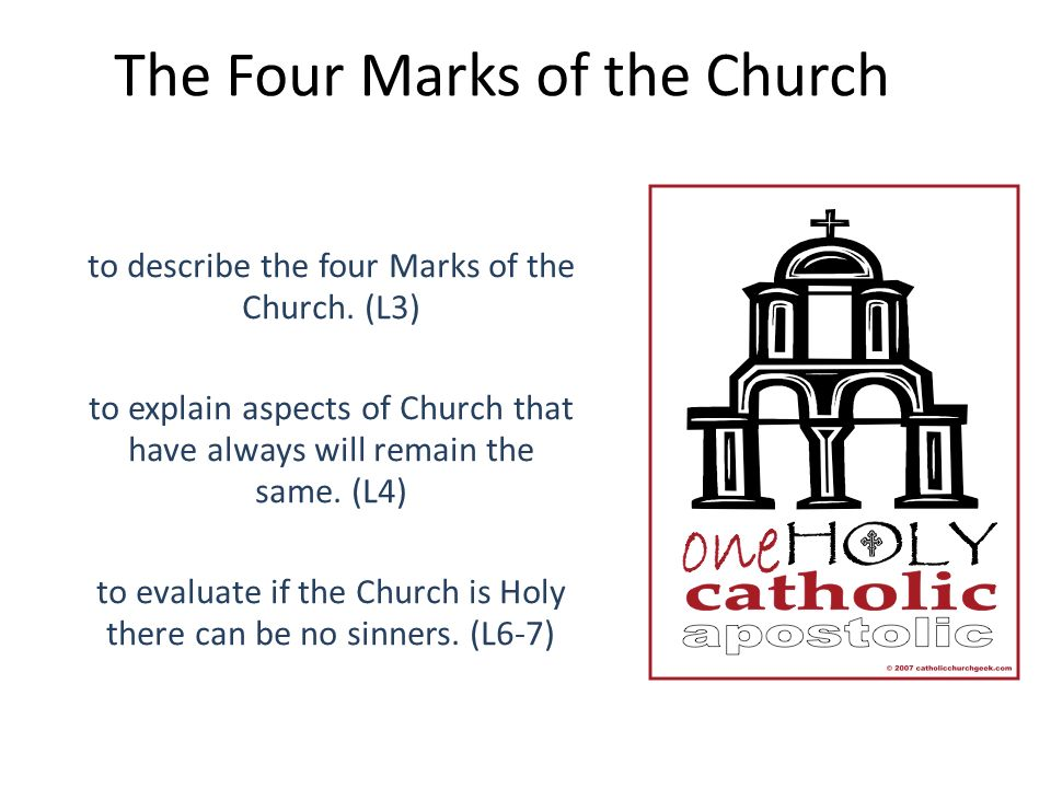 The Four Marks of the Church - ppt download