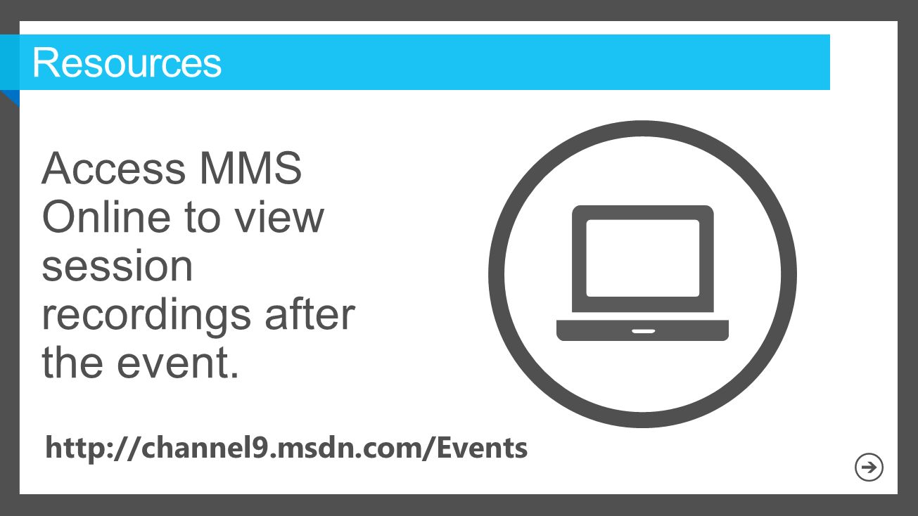 Access MMS Online to view session recordings after the event.