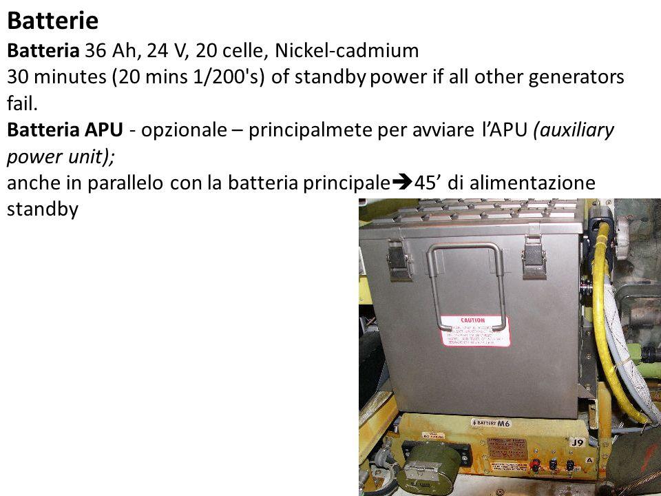 Batterie Batteria 36 Ah, 24 V, 20 celle, Nickel-cadmium