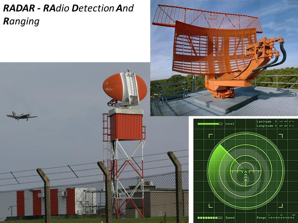 RADAR - RAdio Detection And