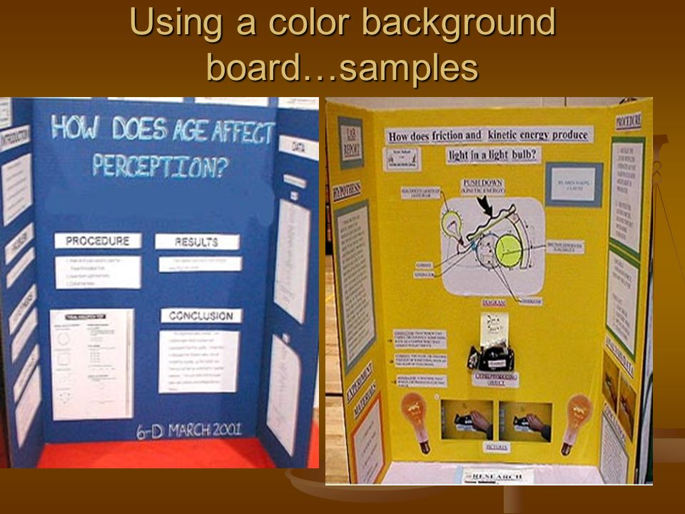 science fair background One of the tasks of entering a science fair is to write a background research  paper for your project don't be nervous about it, though basically, it involves  finding.