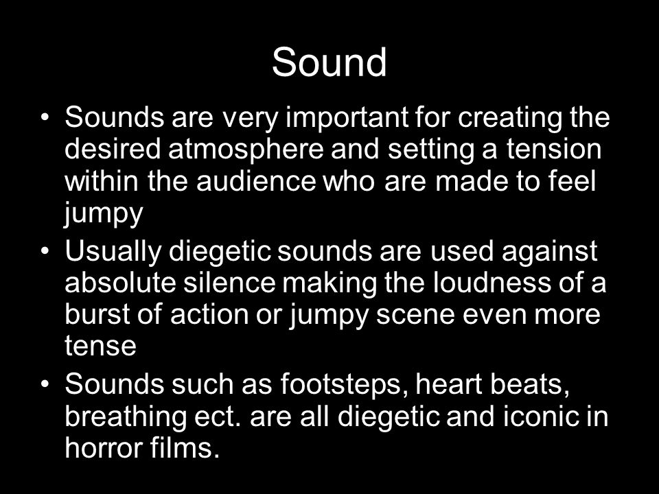 creating tension with sound As we can see in this example from the dark knight, music plays an important role in building the tension until the reveal tip #3: mix up your lens choices the visual field in your film is key to creating cinematic suspense.