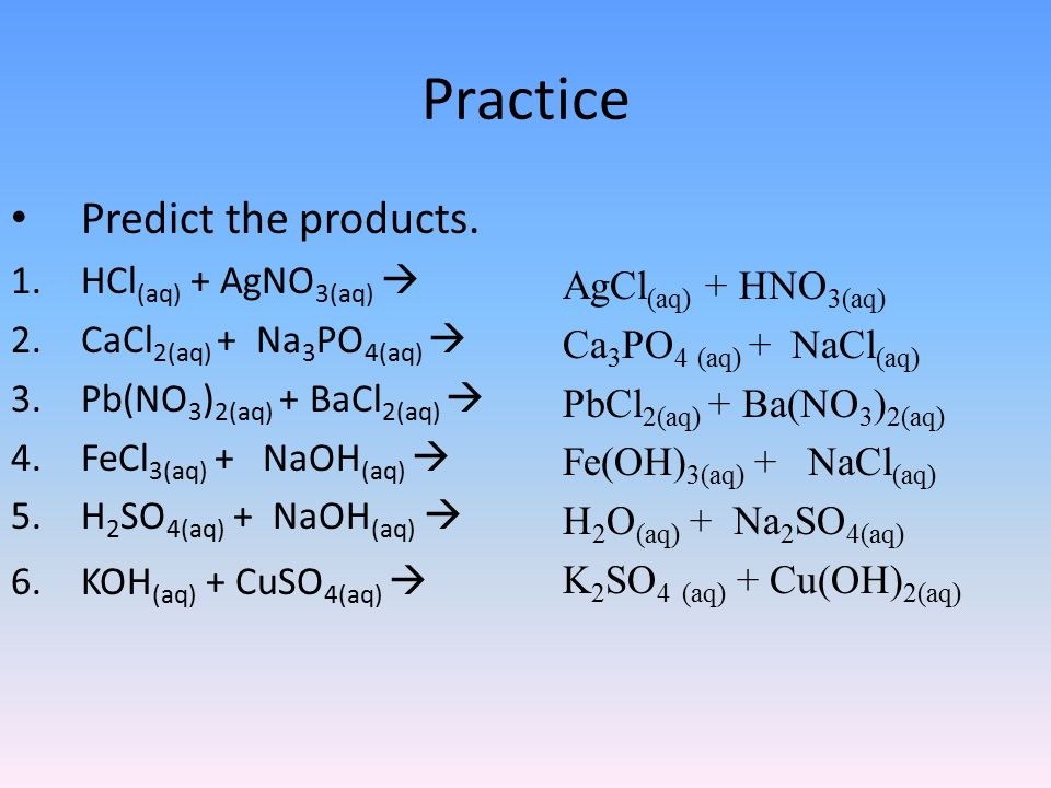 Double Displacement Reactions Ppt Video Online Download