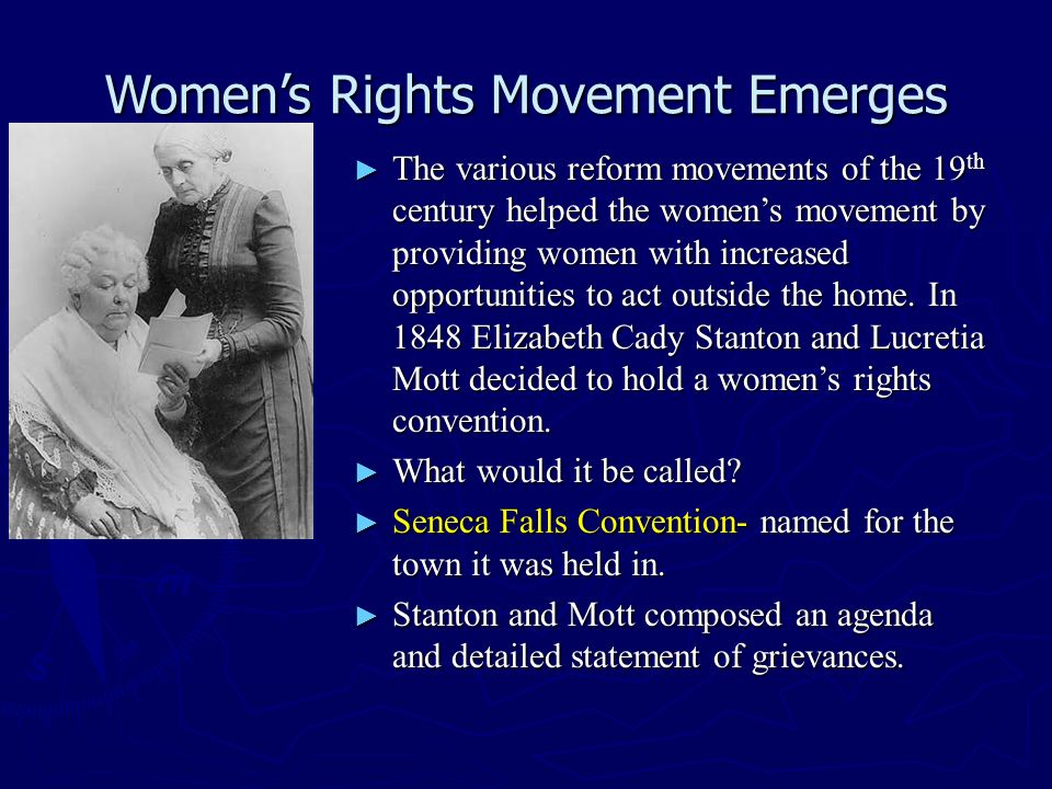 the 19th century social activism in the name of women led by sojourner truth Petition of amelia bloomer regarding suffrage in the west background mid-19th century america was in some respects an age of perfectionism people believed religious, moral, social, or political perfection was obtainable.