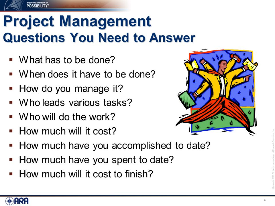 How to Manage a Project Effectively