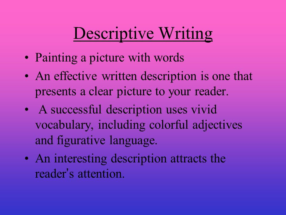 descriptive essay on painting 1 write an essay stating: a where he said religion is all about prayers b how your tweet relates to his tweet 700 words good luck rti dissertations abstracts.