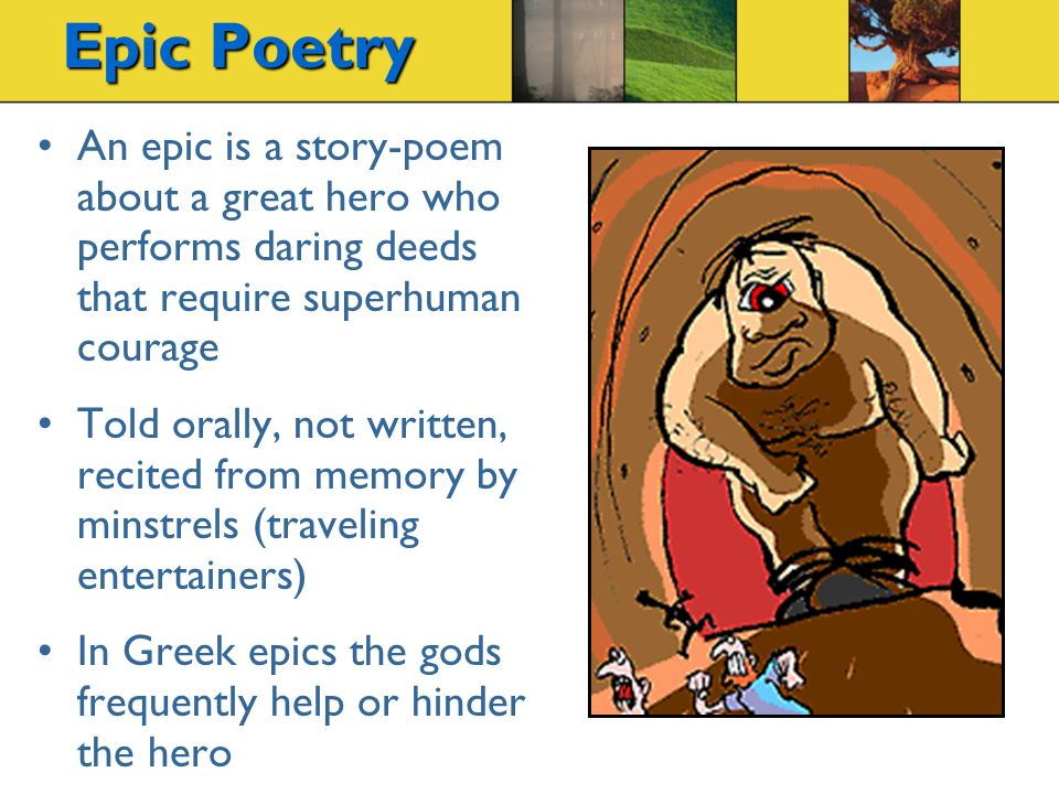 a review of the plot and setting of the greek poem the iliad The iliad study guide from litcharts  an interactive data visualization of the iliad's plot and themes  (ancient greek) genre: epic poem setting:.