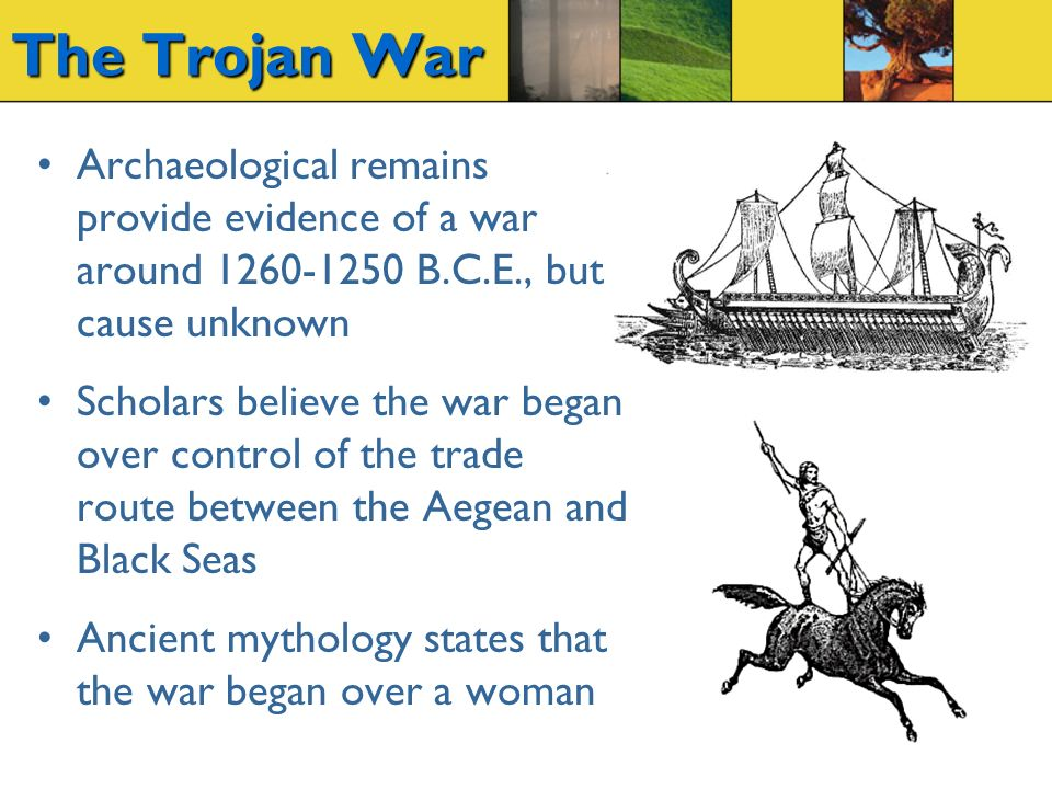 What is the Mythical Cause of the Trojan War?