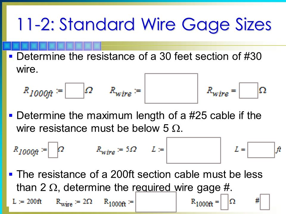 Conductors and insulators ppt video online download 11 2 standard wire gage sizes greentooth Choice Image