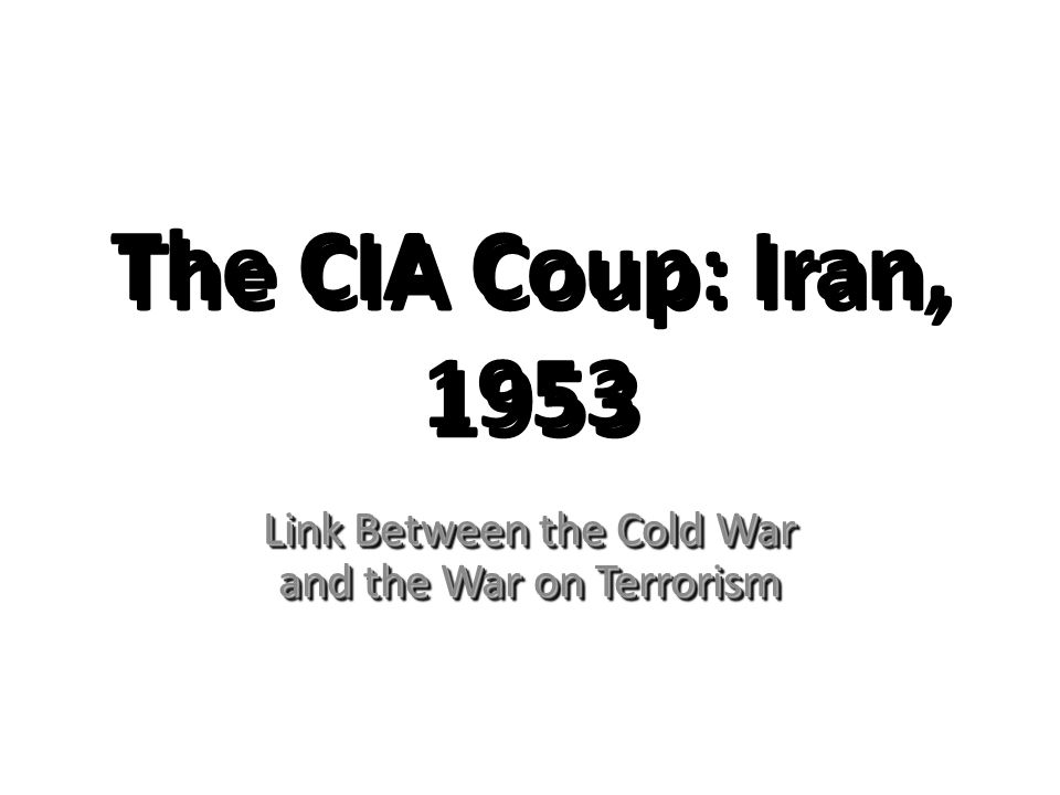 comparison of war on terror with the cold war A country rarely fights the same war twice in one generation, especially from   both the kgb and its afghan ally, the khad, conducted terrorist attacks to bring   of five presidents and how they won the cold war has a more balanced view.