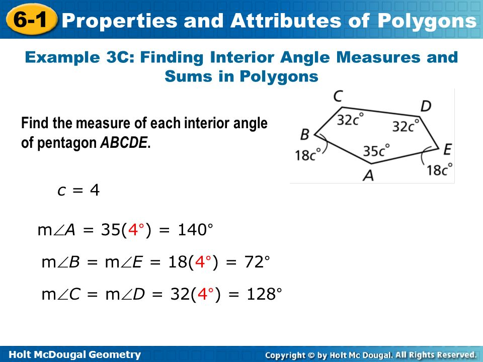 What Is The Interior Angle Of A Decagon Polygon