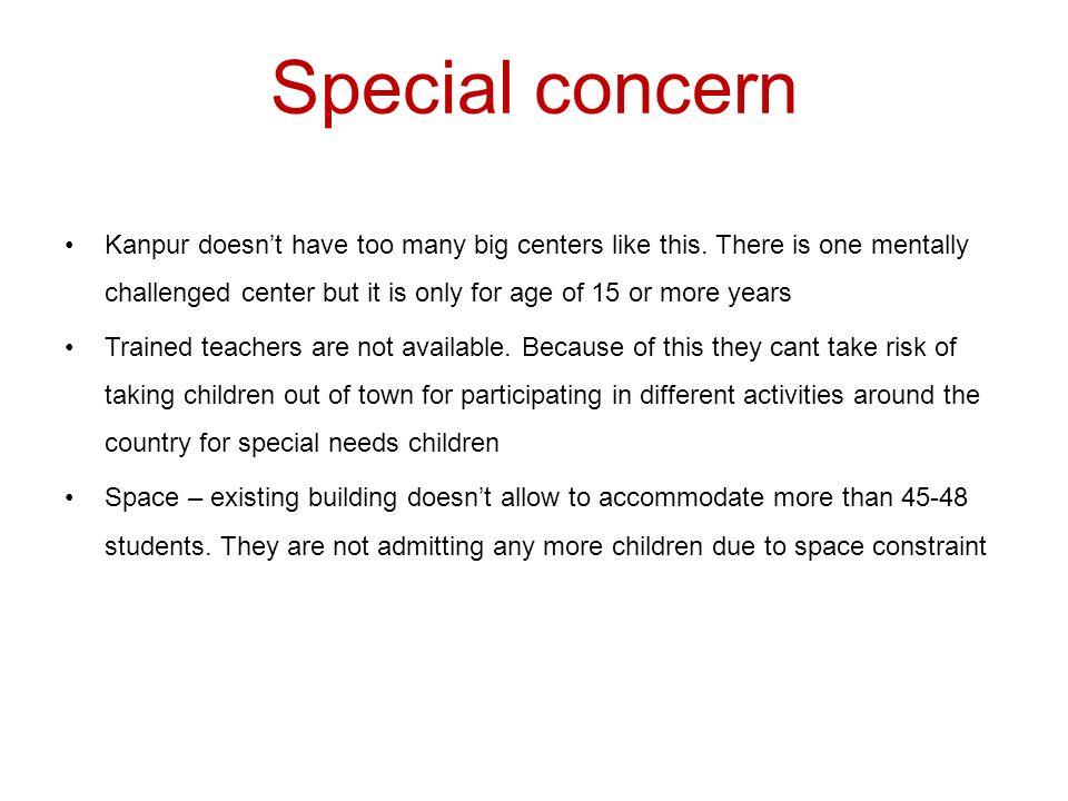 Special concern