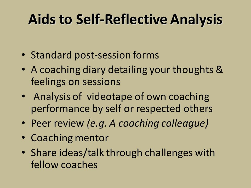 Reflection on coaching and mentoring essay