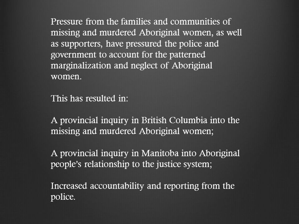 the marginalization of aboriginals in the Triple marginalization in the health care system _____ submitted by lynda brunen candidate, bsw submitted to the northern secretariat of the  aboriginal people in .