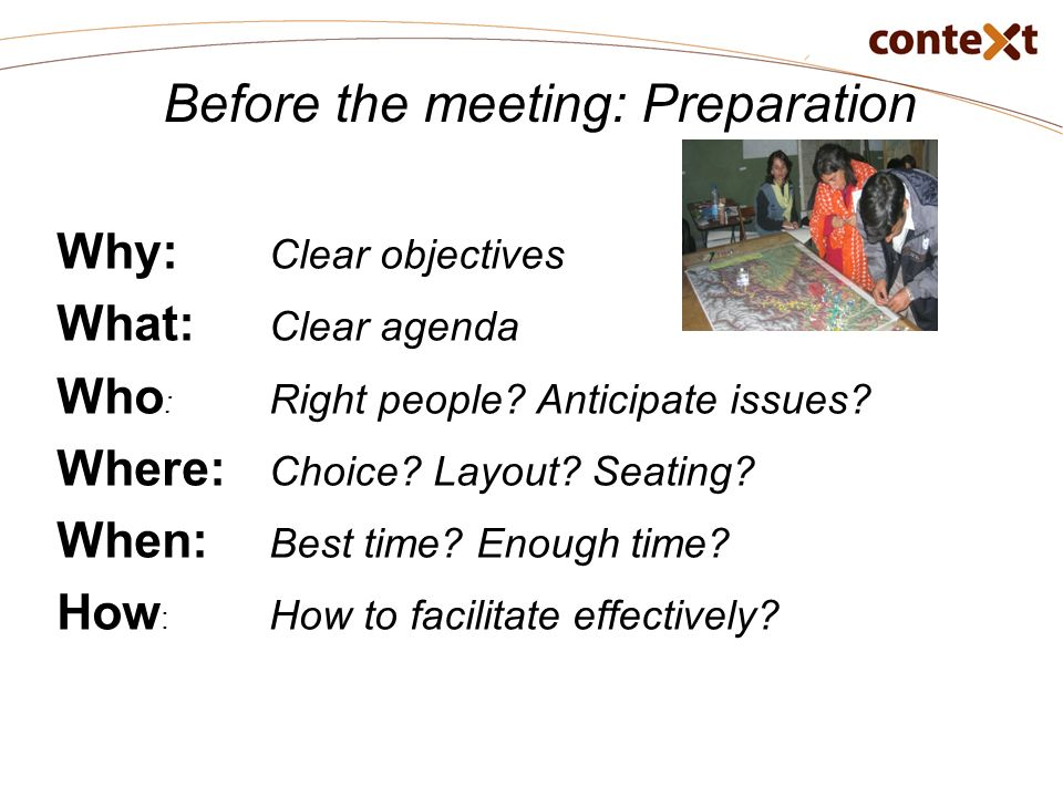 Effective Meeting Skills  Ppt Download