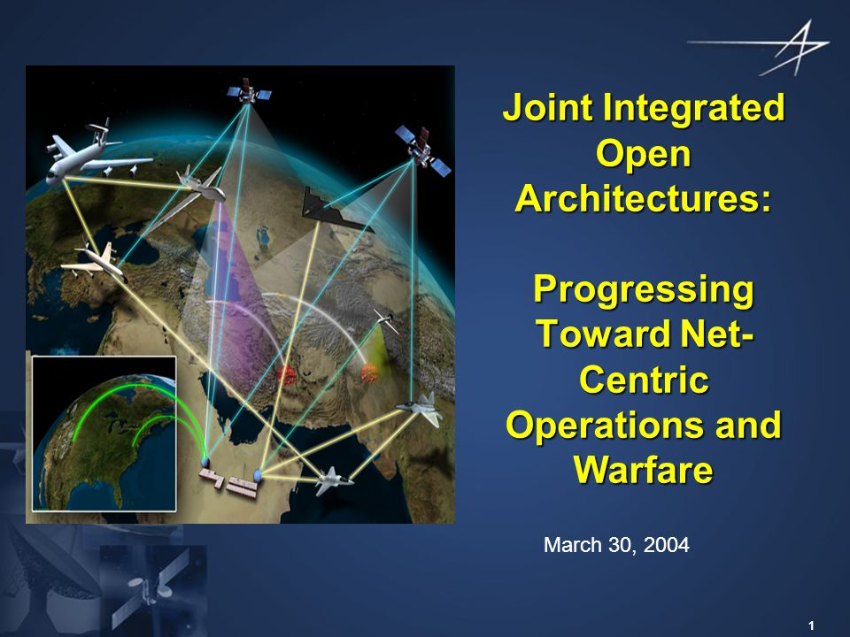 Joint Integrated Open Architectures Progressing Toward