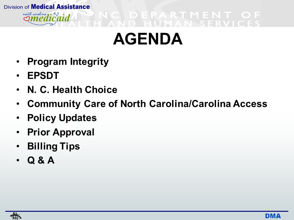 medicaid health choice nc