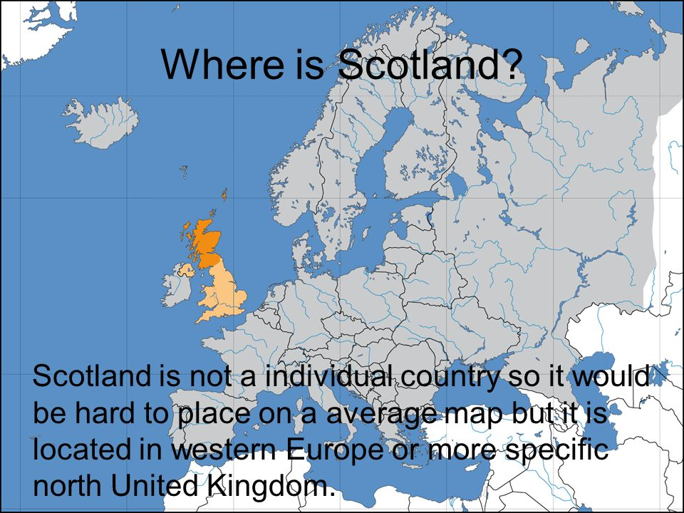 By John Doherty And Tyler Foxwell Ppt Download - Where is scotland