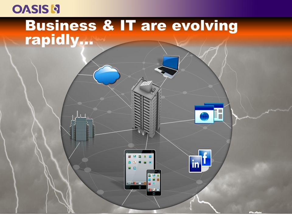 Business & IT are evolving rapidly…