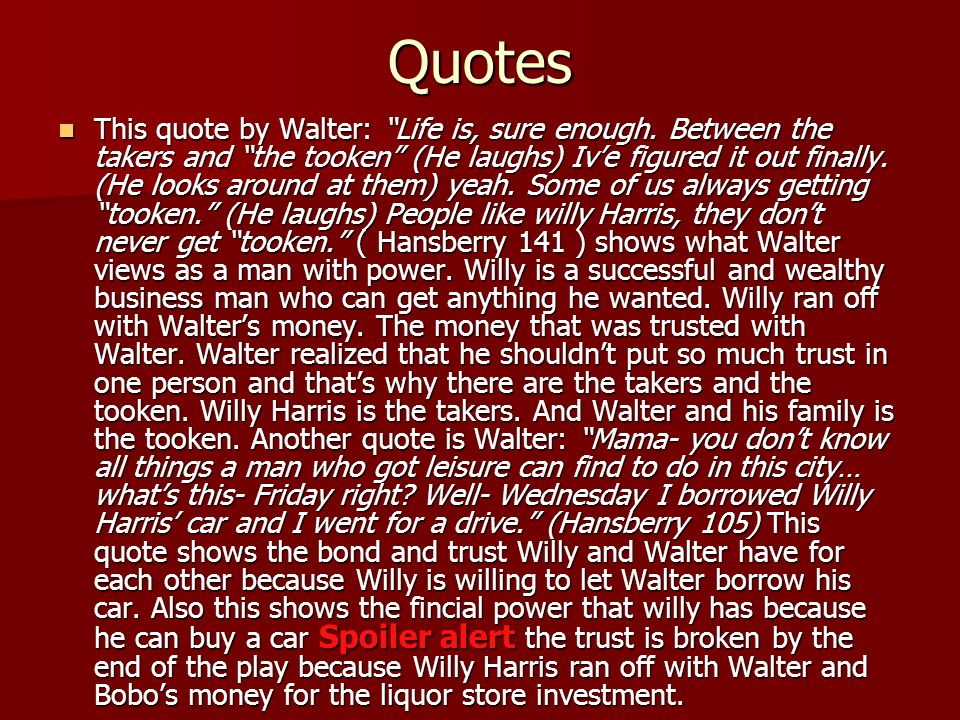 walters women and his successes in a raisin in the sun A summary of act ii, scene ii in lorraine hansberry's a raisin in the sun learn exactly what happened in this chapter, scene, or section of a raisin in the sun and what it means.
