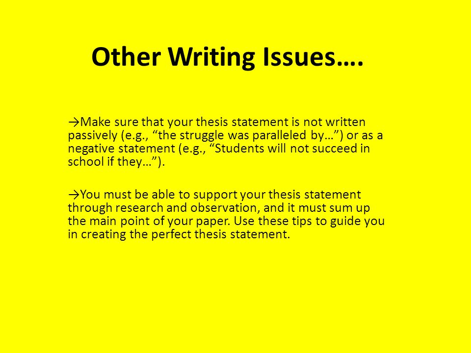 "writing a good thesis for a research paper Another good way is to begin a free write, ""i'm supposed to write an essay about click on the my thesis button to see your thesis statement."
