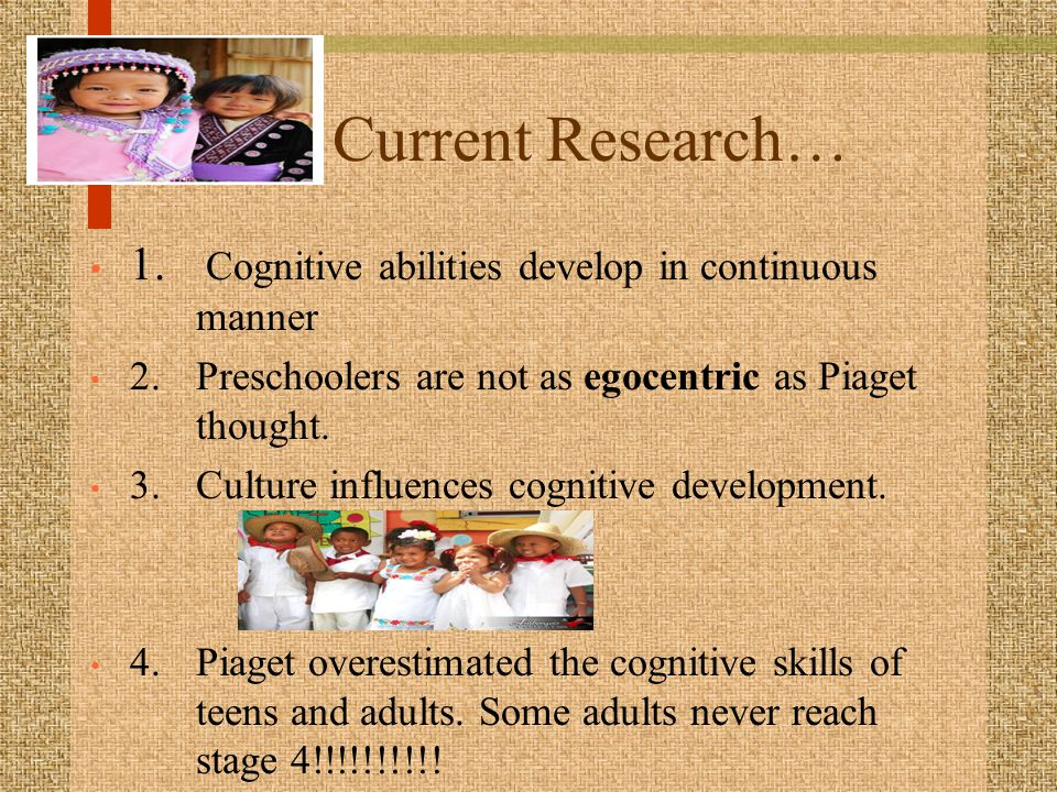 Musical Development as a Cognitive Ability