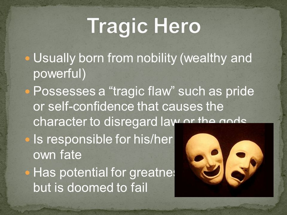 a tragic hero in antigone by sophocles In tragedy, there is the unhappy ending--the hero's or heroine's fall from fortune   is an issue in hamlet as well as in sophocles' antigone or oedipus tyrannus.