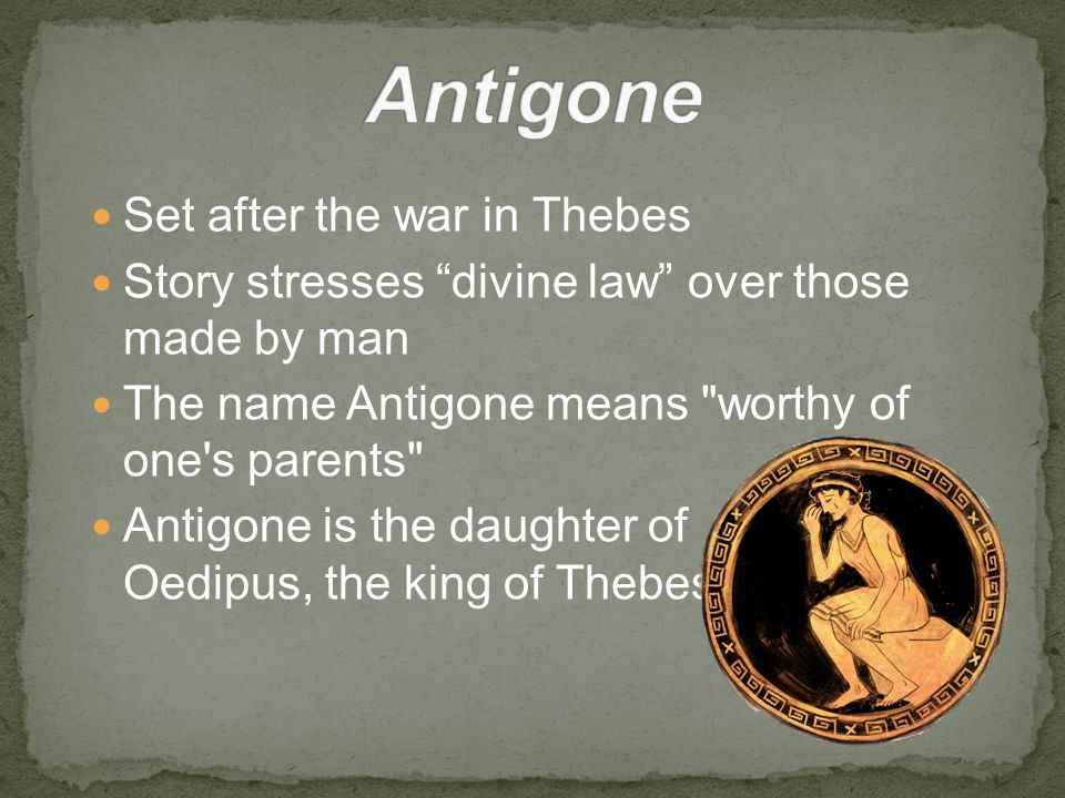 The Role of Fate in Sophocles' Antigone Essay