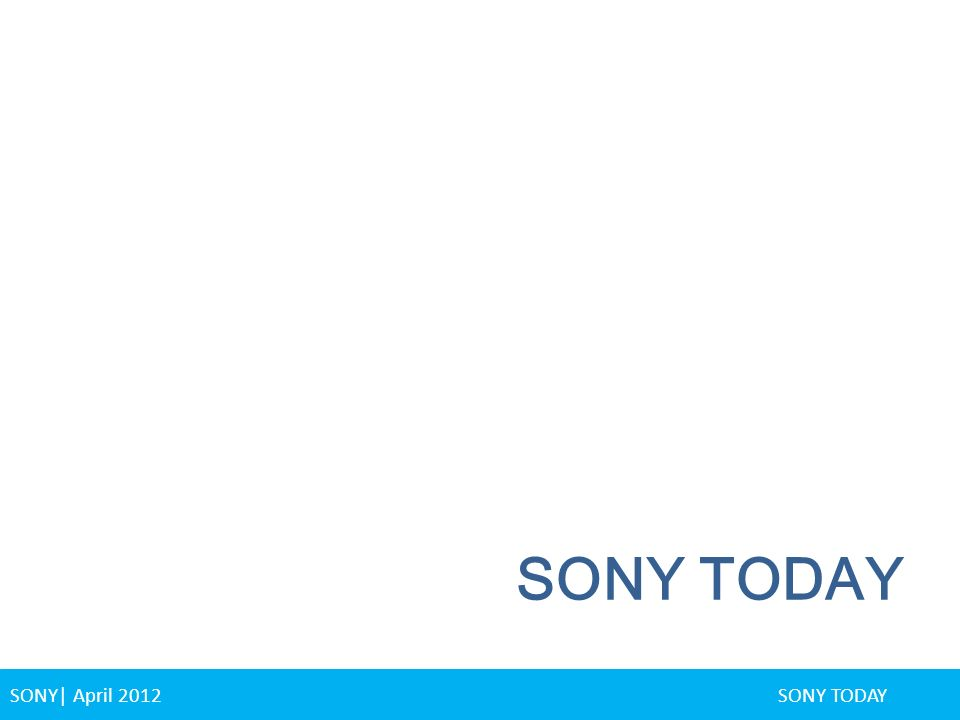 sony corporation financial statement Reports a range of lg lg electronics provides financial statements, which are distinguished in consolidated and non-consolidated format, for all current and.
