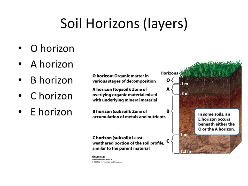 Earth systems ppt download for Earth soil layers