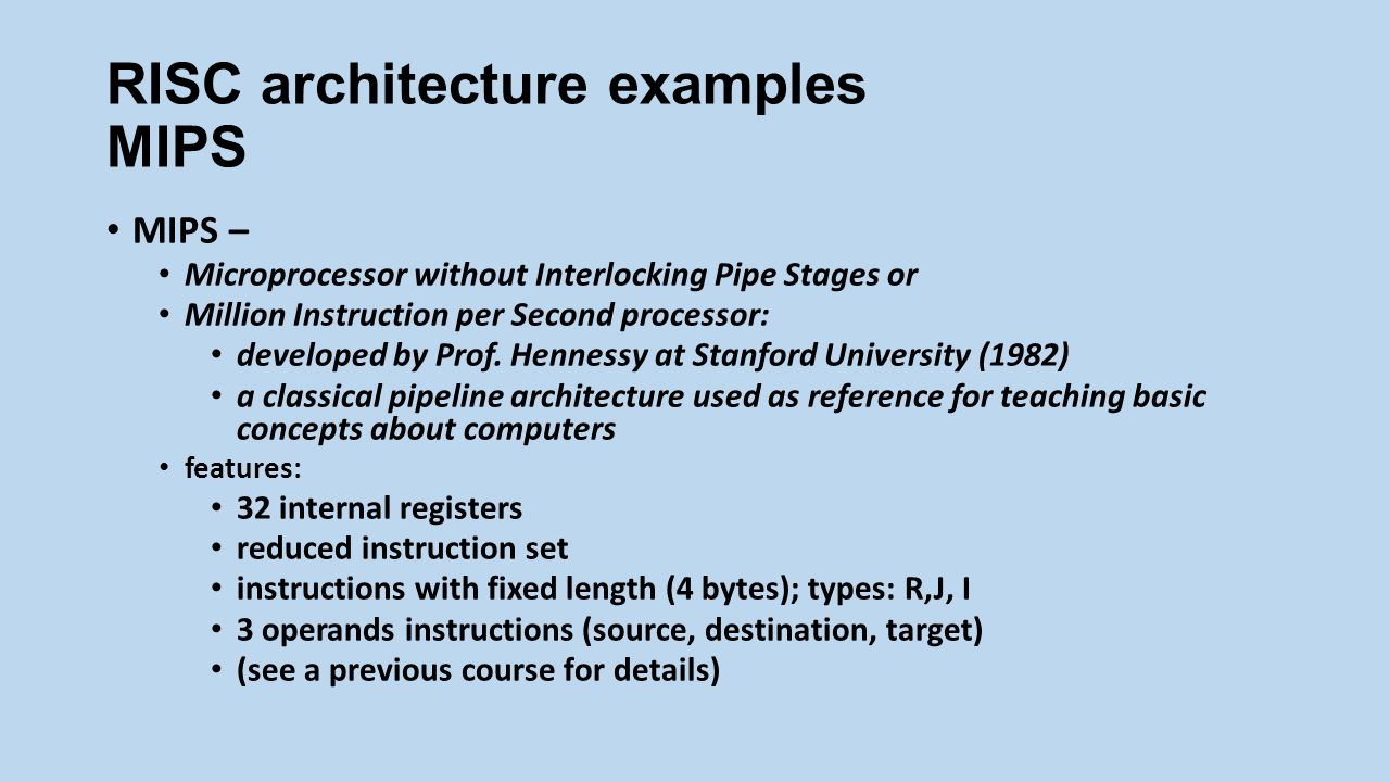 microprocessor without interlocked pipeline stages architecture A fpga implementation of a mips risc processor for computer architecture  without interlocked pipeline stages)  (microprocessor without interlocked pipeline.