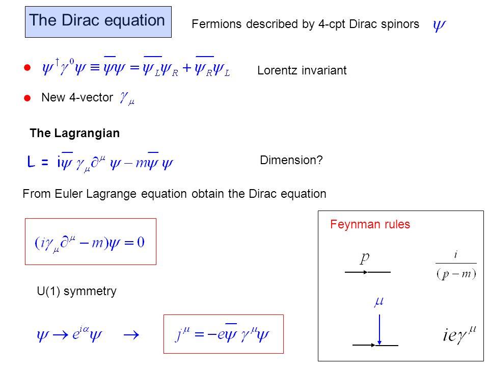 The inclusion of fermions – J=1/2 particles - ppt video ...