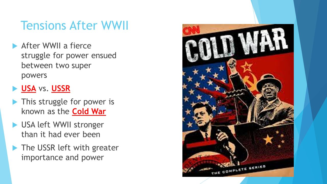 the power struggle of america during the cold war During world war ii, roosevelt followed a policy of the grand alliance with the   regardless of exactly when the cold war began, in about 1947 the us policy   then, had not realized the extent of great britain's decline as a great power.