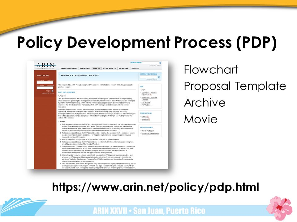 Policy Development Process  Ppt Video Online Download