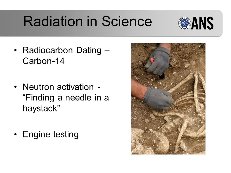 nuclear radiation carbon dating