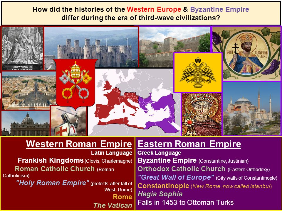 byzantine vs western europe Dumbarton oaks byzantine studies symposium, friday, april 30th–sunday, may   as the western and central european powers grew and matured—first in the.