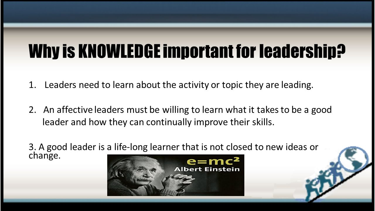 why proper leadership is important