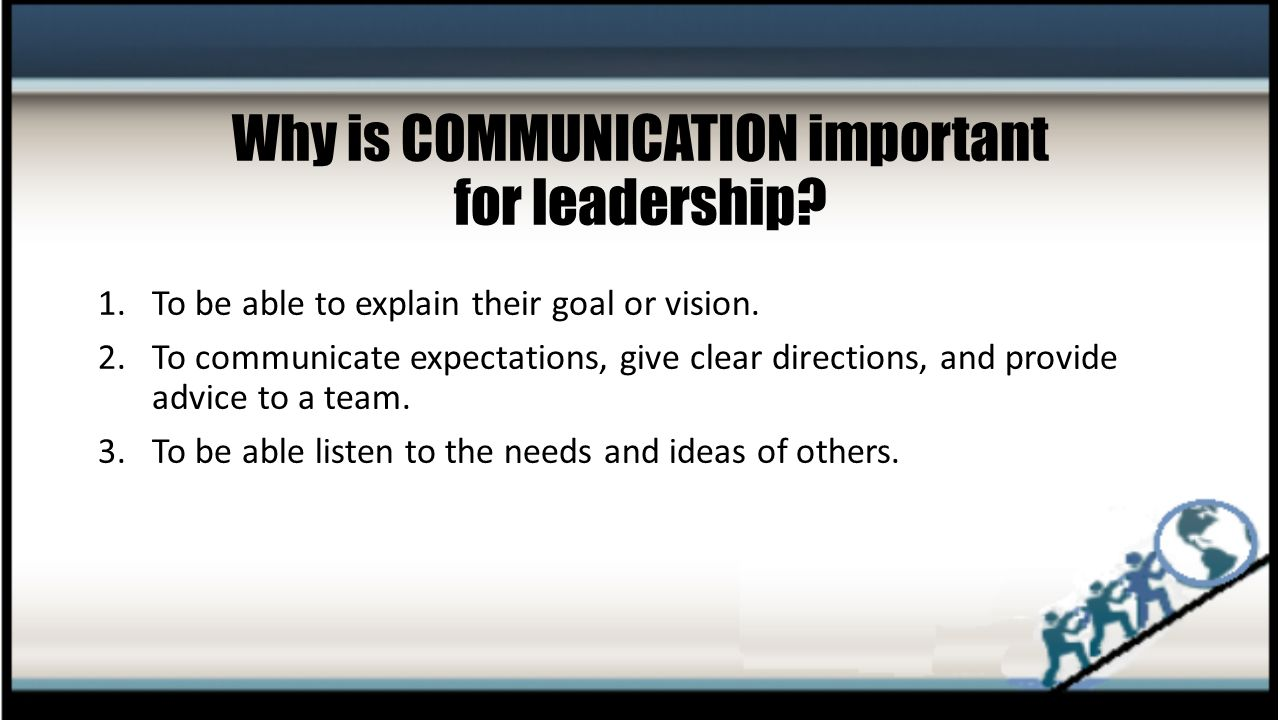 why leadership is important Creating a leadership framework is key to ensure your leaders make the right   outcomes and results are the most important measures for me.