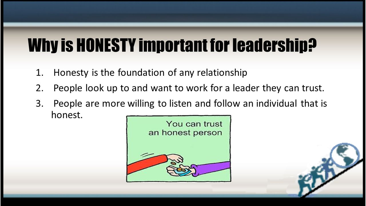 why is honesty important in being
