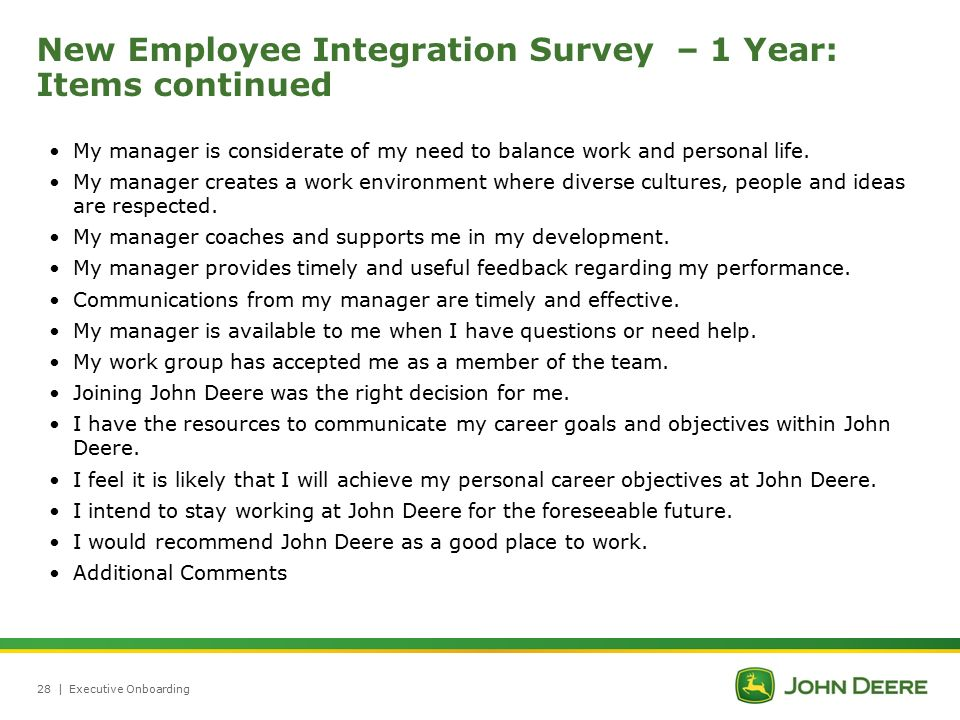 Executive Onboarding Process At John Deere Ppt Video