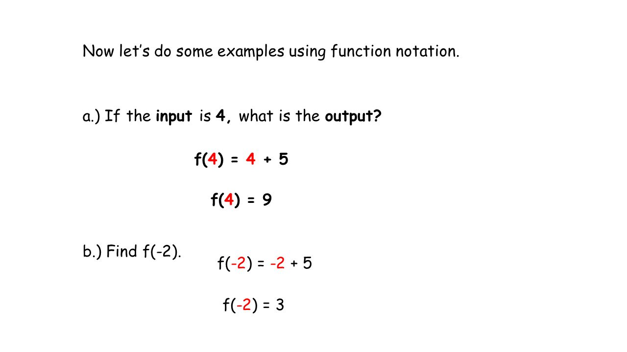 Worksheets Function Notation Worksheet With Answers unit 3 an introduction to functions ppt video online download now lets do some examples using function notation