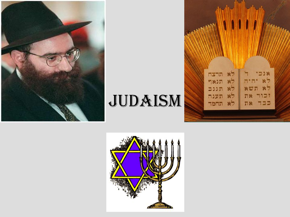 judaism presentation Judaism presentation #1 the word western religions emphasize and privilege the revelatory text the 'word' matter or thing, from root meaning to arrange.