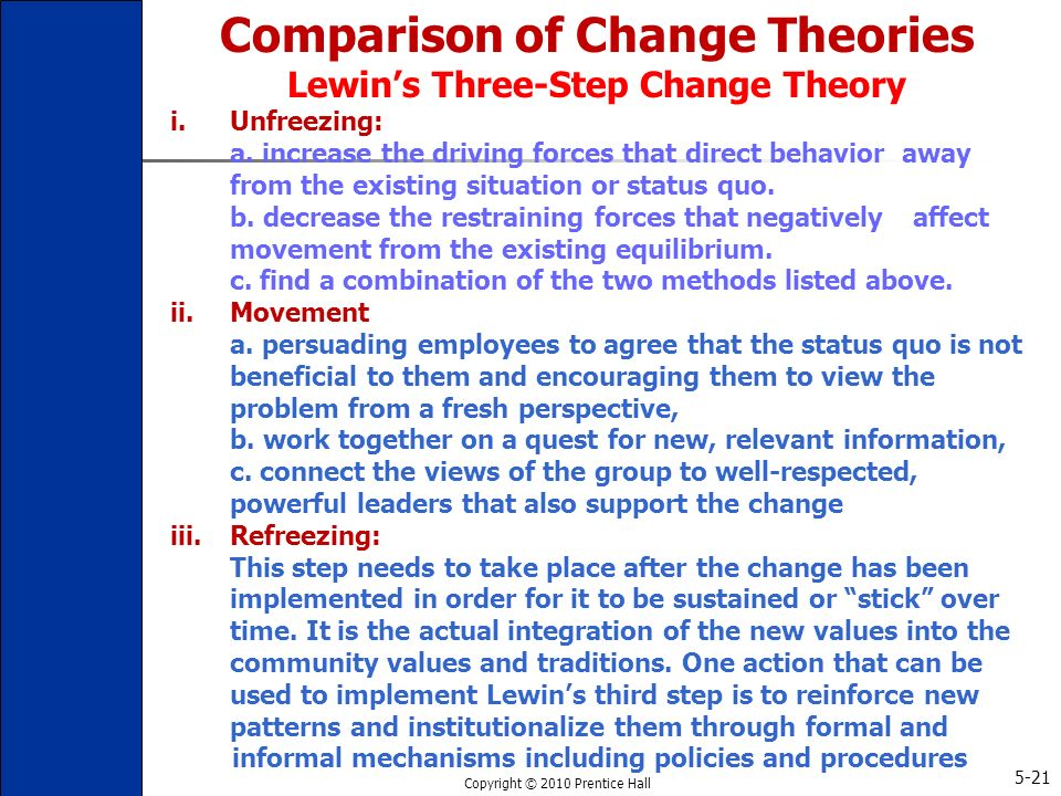 comparison of change theories lewin lippitt and havelocks Comparison of change theories lewin lippitt and havelocks , comparison of change theories lewin lippitt and havelocks organizational change is usually triggered by.
